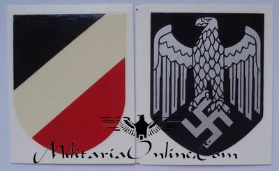 WW2 German Water Transfer Decals - Heer / Army / Wehrmacht